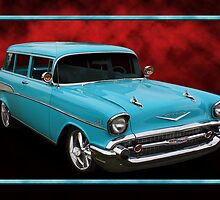 57 Chevy Wagon by Keith Hawley