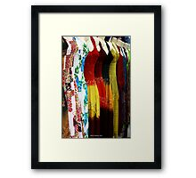 Dress Her Up Framed Print