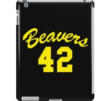 BEAVERS iPad Case/Skin