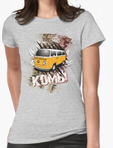 Volkswagen Tee Shirt - Two Tone Kombi Womens Fitted T-Shirt