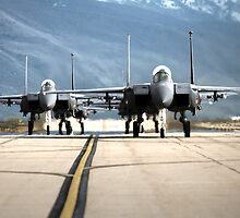 Strike Eagles by jdmosher