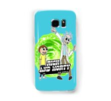 Rick and Morty vs The World Samsung Galaxy Case/Skin