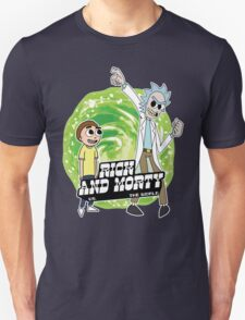 Rick and Morty vs The World Unisex T-Shirt