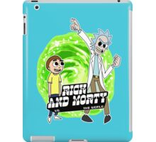 Rick and Morty vs The World iPad Case/Skin