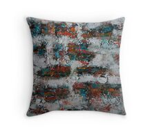 Fragmentation 3 Throw Pillow