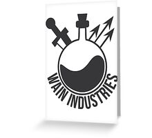 Wain Industries Greeting Card