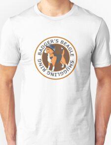 Badger's Beagle Smuggling Ring V2.0 Unisex T-Shirt
