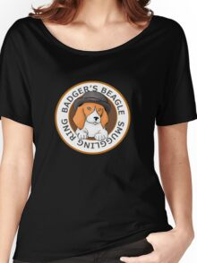 Badger's Beagle Smuggling Ring V1.0 Women's Relaxed Fit T-Shirt