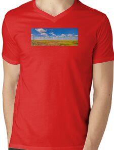 West Texas Sky Mens V-Neck T-Shirt