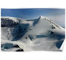Mount Athabasca Poster