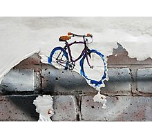 Paper Bicycle Photographic Print