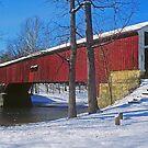 Deer's Mills Covered Bridge by Rick Montgomery