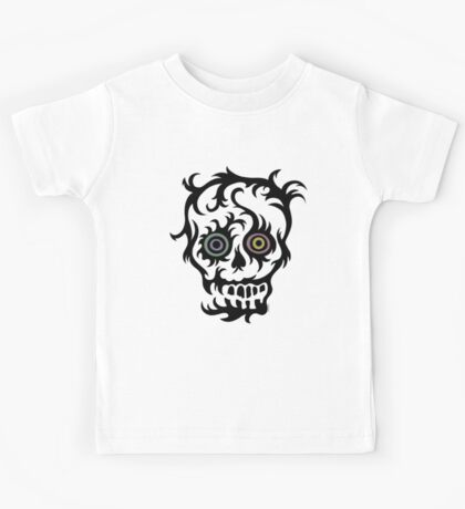 Skull Tattoo - on lights Kids Tee