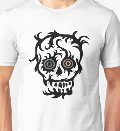 Skull Tattoo - on lights Unisex T-Shirt