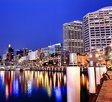 Darling Harbour by aureecejustin