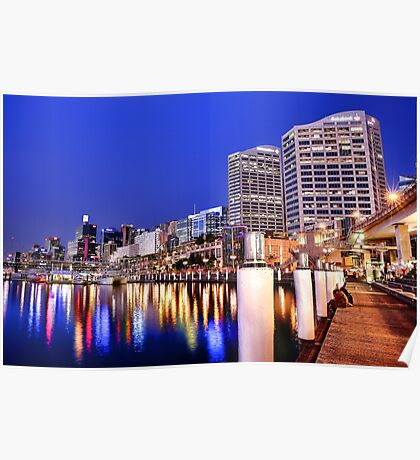 Darling Harbour Poster