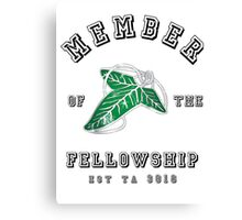 Fellowship (White Tee) Canvas Print