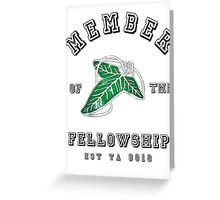 Fellowship (White Tee) Greeting Card