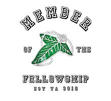 Fellowship (White Tee) Photographic Print