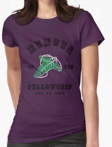 Fellowship (White Tee) Womens Fitted T-Shirt