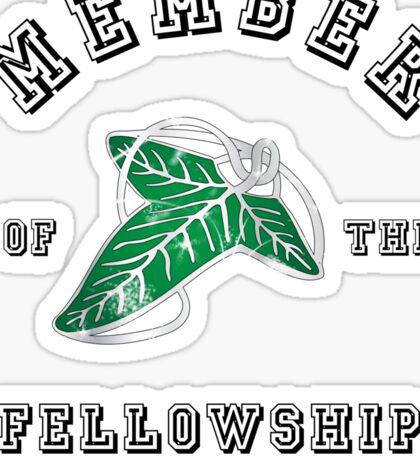 Fellowship (White Tee) Sticker