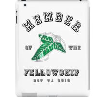 Fellowship (White Tee) iPad Case/Skin