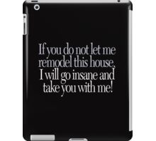 Beetlejuice - Go insane! iPad Case/Skin
