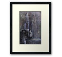 To be what you must .. just reach out for what you are. Framed Print
