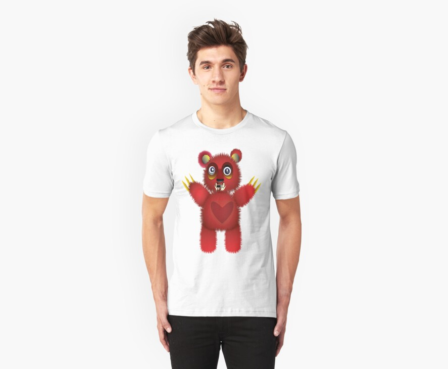 Vampy Bear by FreedomMuse