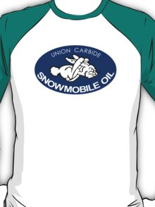 Union Carbide Snowmobile Oil Shirt T-Shirt