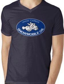 Union Carbide Snowmobile Oil Shirt Mens V-Neck T-Shirt