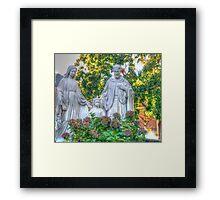 Jesus,Mary and Joseph Framed Print