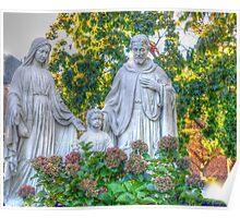 Jesus,Mary and Joseph Poster