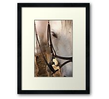 Strength. Framed Print