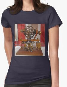 Old Theodolite Womens Fitted T-Shirt
