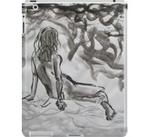 Seated Figure iPad Case/Skin