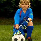 My superstar goalie  :-) by Sean McConnery