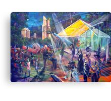 Summer concert- National Art Gallery - Gail Page Canvas Print