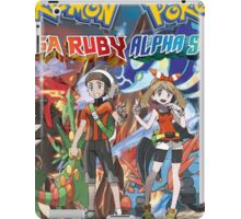 Pokemon Alpha Sapphire/Omega Ruby  iPad Case/Skin