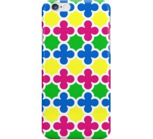 Summer Fun Colorful Quatrefoil Pattern iPhone Case/Skin