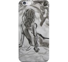 Seated Figure iPhone Case/Skin