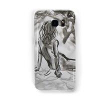 Seated Figure Samsung Galaxy Case/Skin
