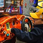 A little boy's day at the arcade by vigor