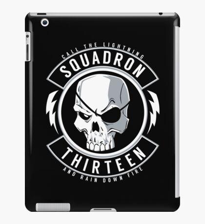 SQUADRON 13 INSIGNIA iPad Case/Skin