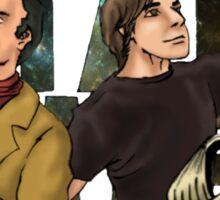 I AM STAR STUFF: Brian Cox and Carl Sagan Sticker