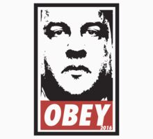 OBEY: CHRIS CHRISTIE by MDRMDRMDR