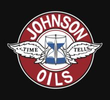 Johnson Gasolene Oils Shirt by PumpingGas