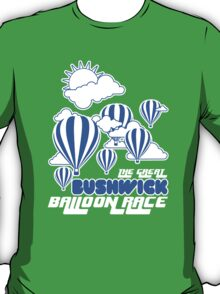 Bushwick Balloon Race, New York T-Shirt