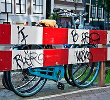 Bicycle Barrier by phil decocco