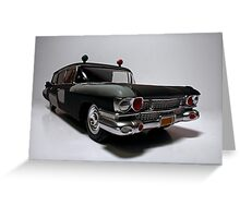 Ecto-1 (Pre-Ecto Version) Greeting Card